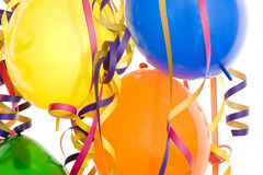 Decoration party, carnival and birthday Stock Images