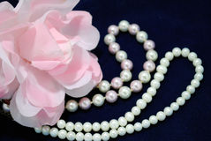 The Decoration from pearl. Stock Images