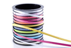 Decoration ribbon. Royalty Free Stock Photography