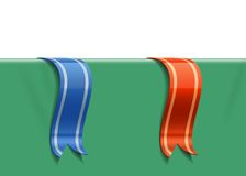 Decoration ribbons Royalty Free Stock Photography