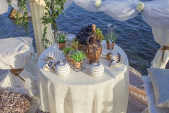 Decoration for romantic date. Royalty Free Stock Images