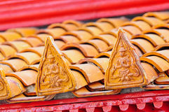 Decoration of roof Stock Images