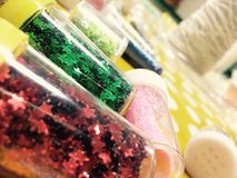 Glitter colorful royalty free stock images