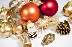 Decoration in several colors. Decoration for christmas in several colors Royalty Free Stock Image