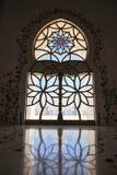 Decoration of Sheikh Zayed Mosque. Abu Dhabi Stock Photos