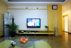 The decoration of small units. Beijing residents decoration effect of the small size Stock Images