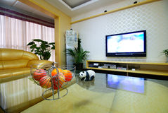 The decoration of small units. Beijing residents decoration effect of the small size Royalty Free Stock Photos