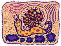 decoration snail Royaltyfri Foto