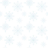 Decoration Snowflakes Seamless Background. Stock Images