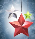 Decoration stars Royalty Free Stock Images
