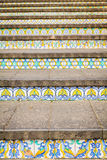 Decoration of steps at Caltagirone Stock Image