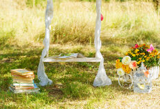 Decoration stuff for wedding Stock Image