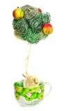 Decoration tapinary  tree Stock Image