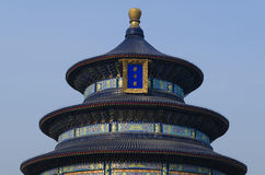 Decoration of The Temple of Heaven Tiantan Daoist temple eligious buildings Beijing China Stock Image
