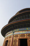 Decoration of The Temple of Heaven Tiantan Daoist temple eligious buildings Beijing China Royalty Free Stock Photography