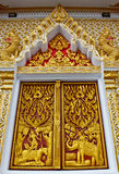 The decoration of temple window Stock Photography