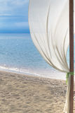 Decoration on tropical beach Royalty Free Stock Photo