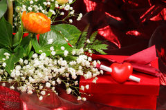 Decoration for Valentine's Day. Royalty Free Stock Image