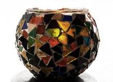 Decoration vase with mosaic Royalty Free Stock Photo