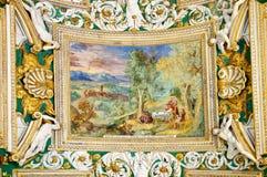Decoration in Vatican museum Stock Photos