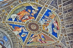 Decoration in Vatican museum Royalty Free Stock Photography