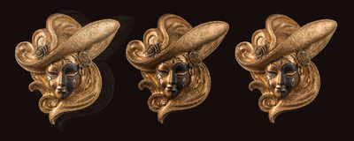 Decoration Venetian Mask Stock Images