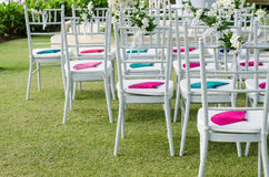 Decoration in wedding celebration Stock Images