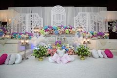 Decoration for wedding ceremony Stock Photography