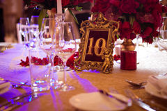 Decoration on wedding day Royalty Free Stock Images