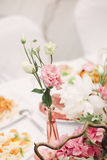 Decoration for a wedding. Detalies elegant event Stock Photography