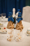 Decoration for a wedding Stock Photos