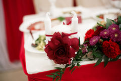 Decoration for a wedding. Detalies elegant event Royalty Free Stock Photography