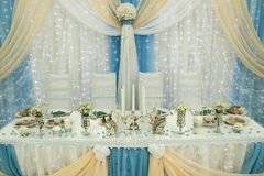 Decoration of wedding Stock Photos