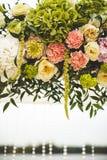 Decoration of wedding flowers Royalty Free Stock Photos