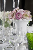Decoration of wedding table Stock Photography