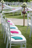 Decoration in western wedding celebration Stock Images