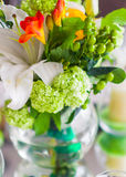 Decoration With Flowers And Fruit Stock Image