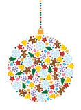 Decoration for xmas tree Royalty Free Stock Image