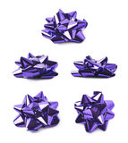 Decorational bow isolated Royalty Free Stock Photography