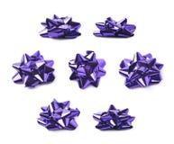 Decorational bow isolated Stock Photos