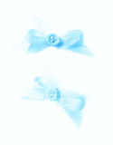 Decorational bow isolated Royalty Free Stock Photo
