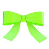 Decorational ribbon bow isolated Stock Photo