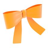 Decorational ribbon bow isolated Stock Photos