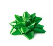 Decorational ribbon gift bow isolated Stock Images