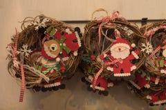 Decoratione 2016 de la Navidad Imágenes de archivo libres de regalías