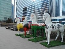 Decorations in Astana Stock Photo