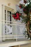 Decorations balcony railing Stock Images