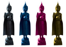 Decorations Buddha statue Royalty Free Stock Image