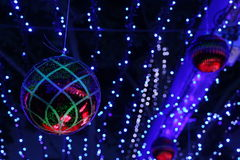 Decorations at the Canberra Sids and Kids light display Royalty Free Stock Images