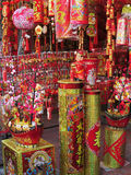 Decorations for Celebration of Chinese New Year Royalty Free Stock Photography